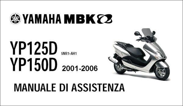 Schema Elettrico Yamaha Majesty 125 : Yamaha majesty mbk skyliner manuale officina