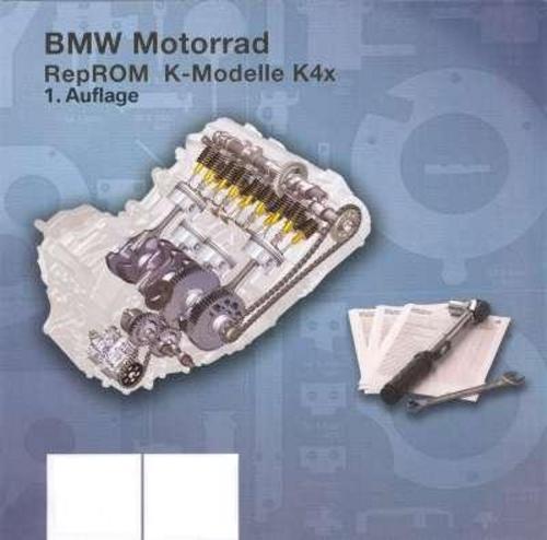 bmw k1200 k4x reprom manuale di fabbrica 2004