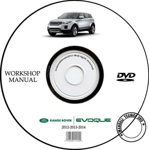 Range Rover Evoque Workshop Manual