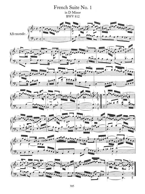 Bach Keyboard Sheet Music for Piano - Acquista Spartiti